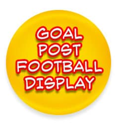 goal post football display