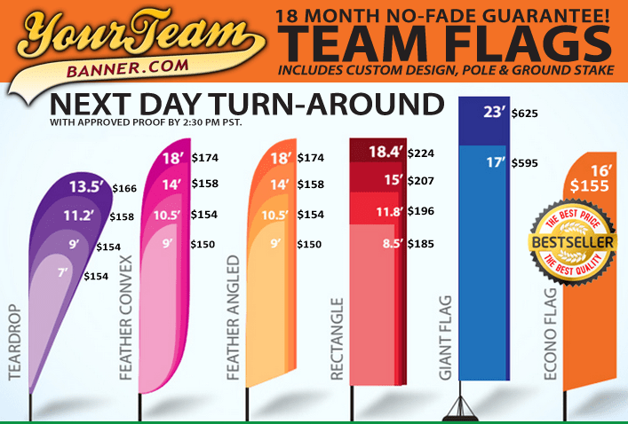 Team Flags Your Banner