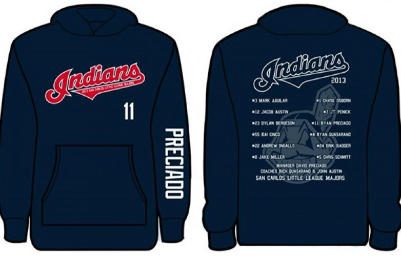 indians hoodie