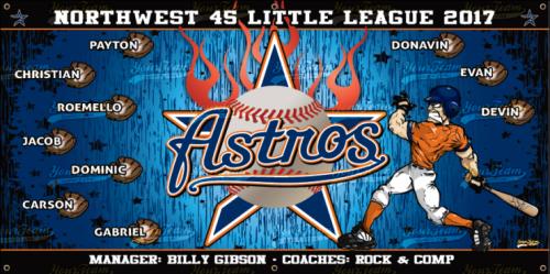 Astros, 6'x3' - 201