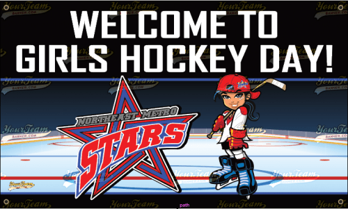 Girls Hockey League Banner - 025