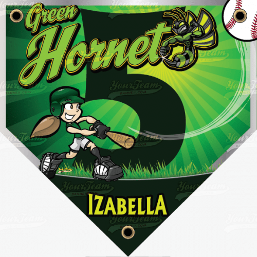 Hornets, Green - 025
