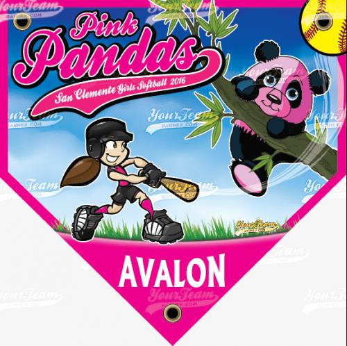 Pandas, Pink - 045