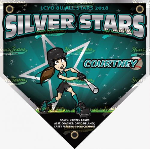 Stars, Silver - 060