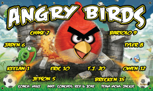 Angry Birds - 180