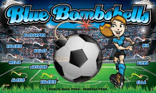 Bombshells, Blue - 300