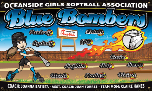 Blue Bombers - 270